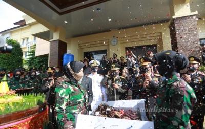Kodam Iskandar Muda 'Kepung' Mapolda Aceh