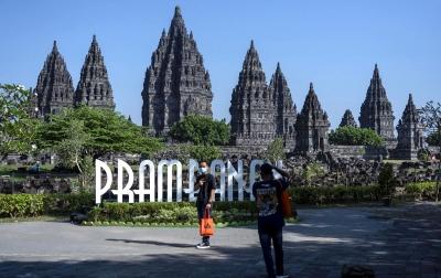 Foto: Wisata Candi Prambanan Dibuka Kembali