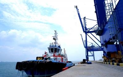 Pelindo 1 Datangkan Kapal Tunda Canggih di Pelabuhan Kuala Tanjung