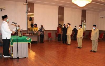 Akhyar Nasution Lantik 4 Pejabat Eselon II