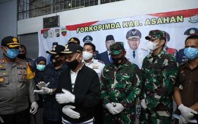 Bupati Asahan dan Wali Kota Tanjungbalai Jemput Pekerja Migran