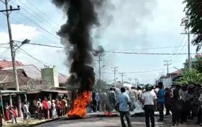 Personel Gabungan Tangkap 9 Terduga Pelaku Kerusuhan