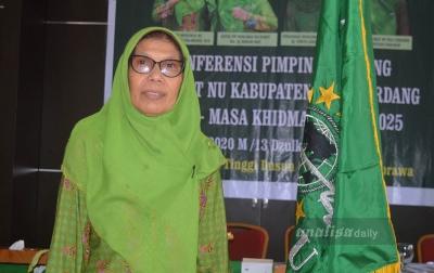 Terpilih Aklamasi, Wastianna Harahap Kembali Pimpin Muslimat NU Deliserdang