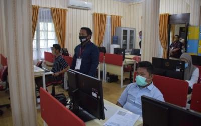 13.955 Orang Ikuti UTBK SBMPTN Unimed Dengan Protokol Kesehatan