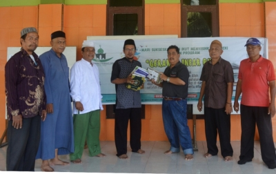 Ketua Dewan Pendidikan Deli Serdang Infak Al Quran dan Buku