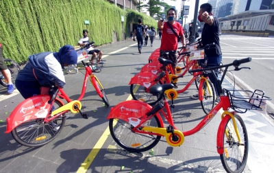 Foto: Layanan Bike Sharing