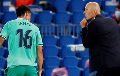 Zidane: James Menjauh Karena Alasan Pribadi