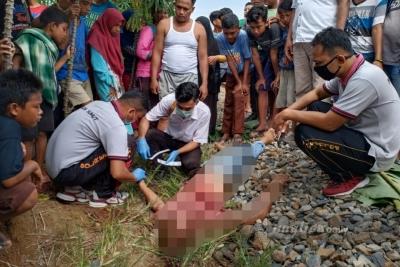 Diduga Akibat Masalah Keluarga, Seorang Pria Tabrakan Diri ke Kereta Api