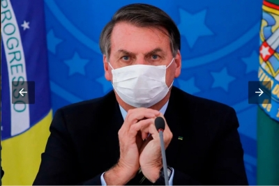 Kerap Abaikan Anjuran Medis, Presiden Brazil Positif Covid-19