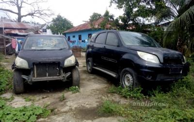 Banyak Mobil Dinas Milik Pemkab Palas Terlantar