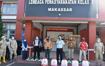 Cara Lapas Makassar Laksanakan Protokol Kesehatan di Tengah Pandemi