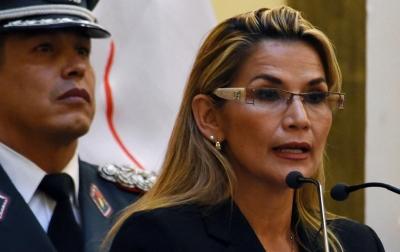 Presiden Bolivia Jeanine Anez Positif Covid-19
