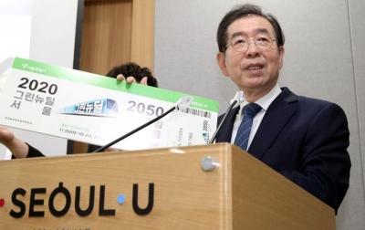 Wali Kota Seoul Tinggalkan Surat Pemintaan Maaf
