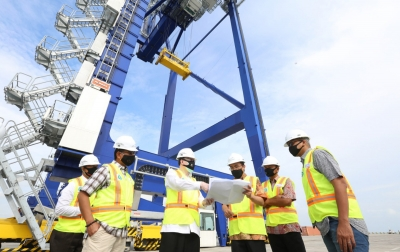 Kuala Tanjung Multipurpose Terminal Pacu Kinerja 2020