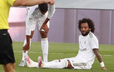 Marcelo Dipastikan Absen Hingga La Liga Berakhir
