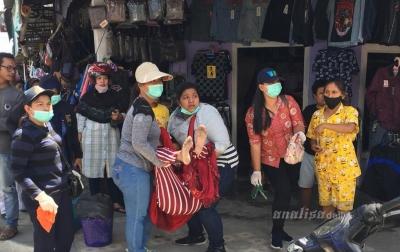 Seorang Pengunjung Pasar Sidikalang Meninggal Dunia
