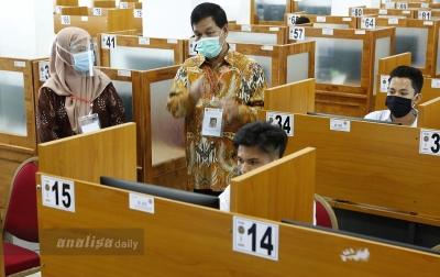 Rektor USU Pastikan Penerapan Ketat Protokol Kesehatan dalam UTBK SBMPTN