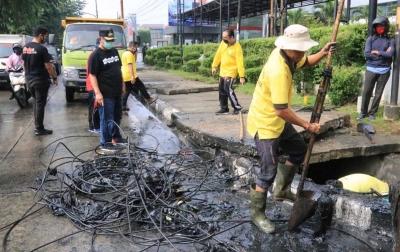 Akhyar Nasution Pimpin Langsung Normalisasi Drainase