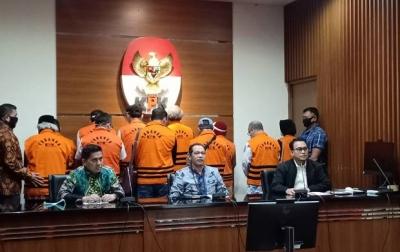 11 Mantan Anggota Dewan Sumut Ditahan KPK