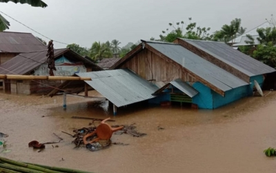 Sejumlah Desa di Bolaang Mongondow Dilanda Banjir dan Longsor