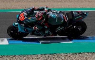 Quartararo Kembali Juara, Yamaha Rajai MotoGP Andalusia