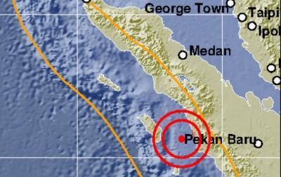 Gempa Bumi Kembali Guncang Nias Selatan