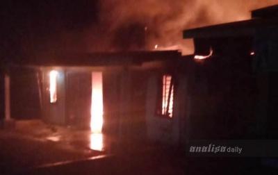 Warung Sembako di Kecamatan Beringin Terbakar