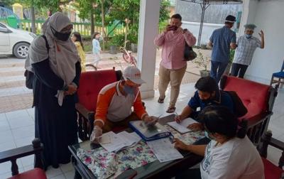 KPU Medan Pantau Langsung Coklit di Lapangan