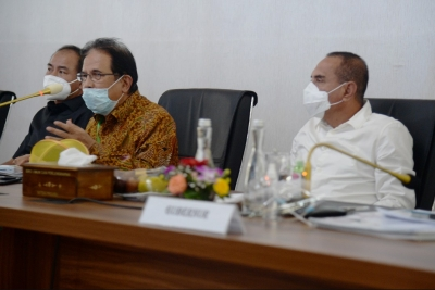 Rapat dengan Menteri ATR, Gubsu Berharap Masalah Pertanahan Segera Tuntas