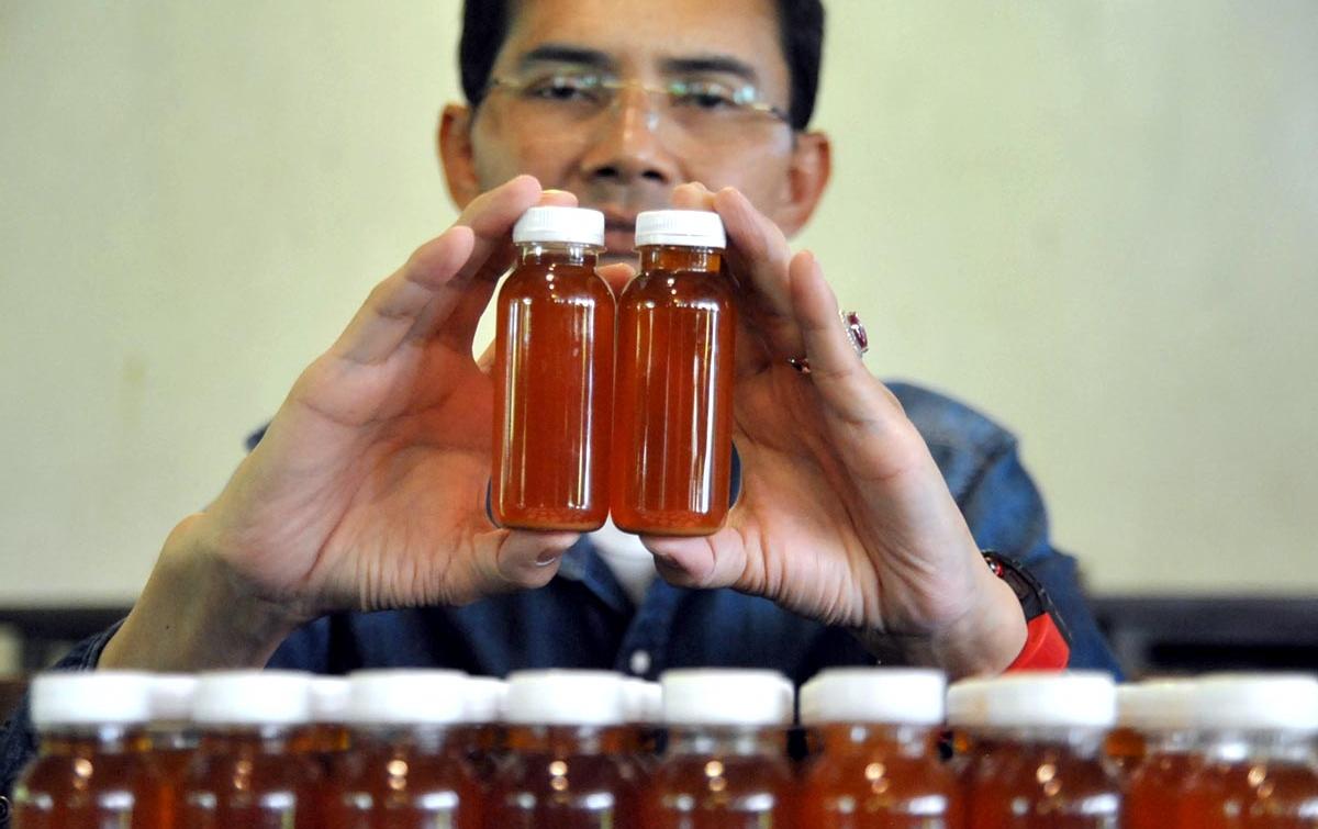 Foto: Ramuan Herbal Antibodi Mencegah Covid-19