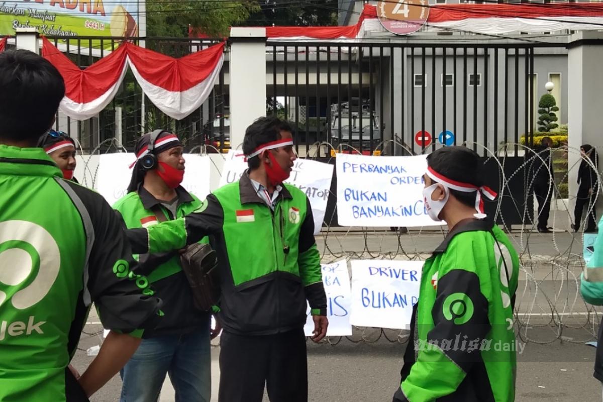 Tanggapan Gojek Terkait Demo Mitranya di DPRD Medan