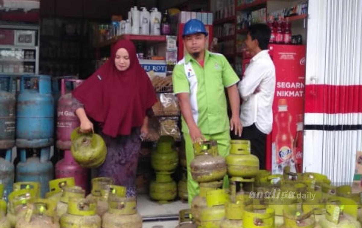 Harga Elpiji 3 Kg di Aceh Utara Rp 35.000 per Tabung