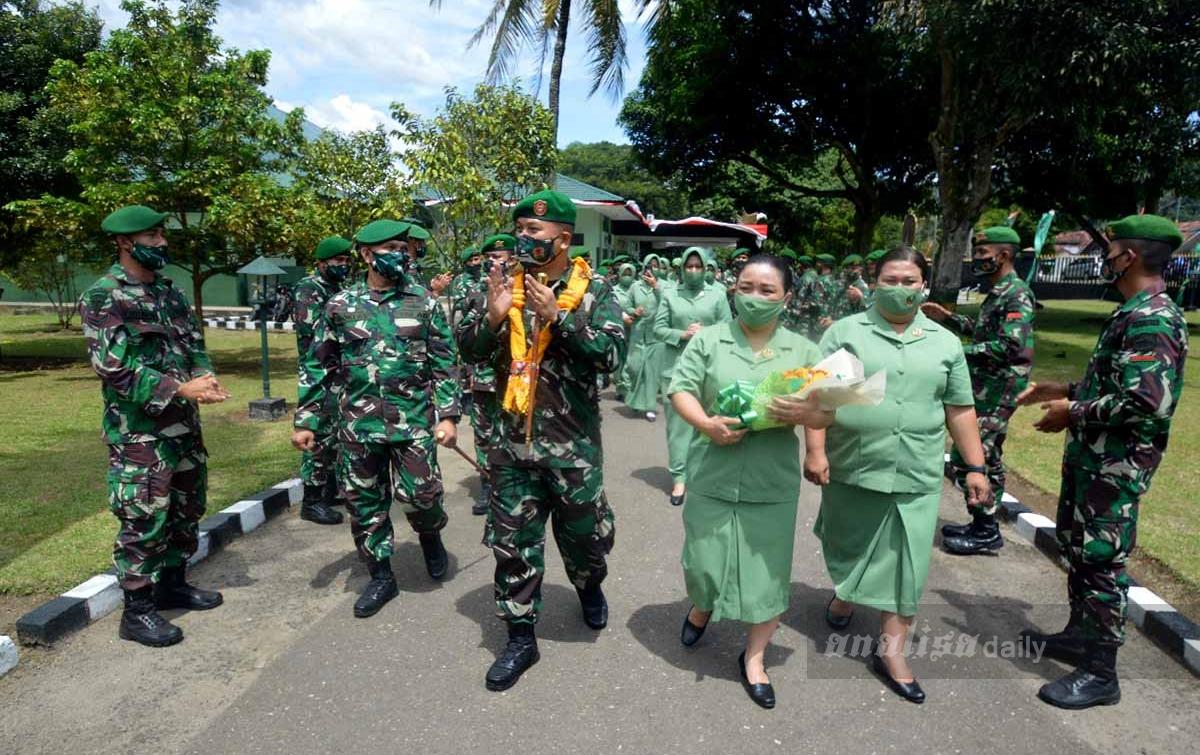Mayor Goklas Silaban Pimpin Yonif 123/Rajawali