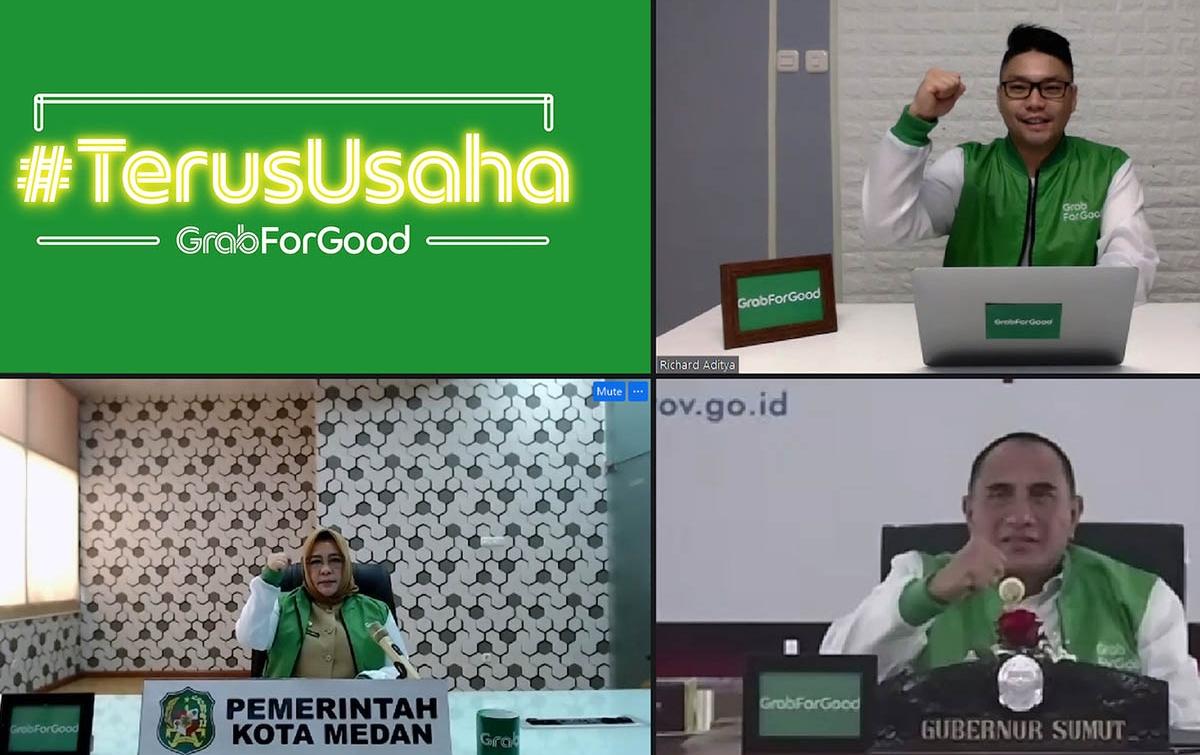 Grab Hadirkan Solusi Digitalisasi UMKM #TerusUsaha di Medan
