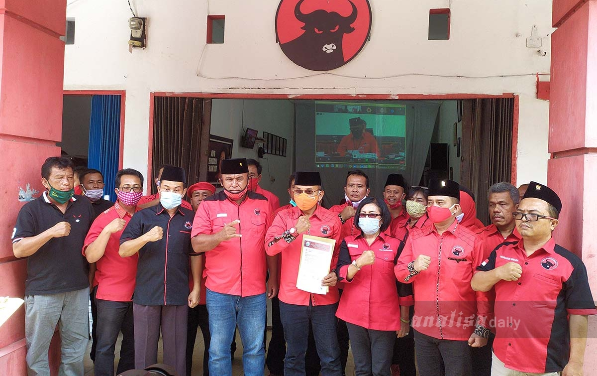 PDIP Usung Anton Saragih-Rospita Sitorus di Pilkada Simalungun