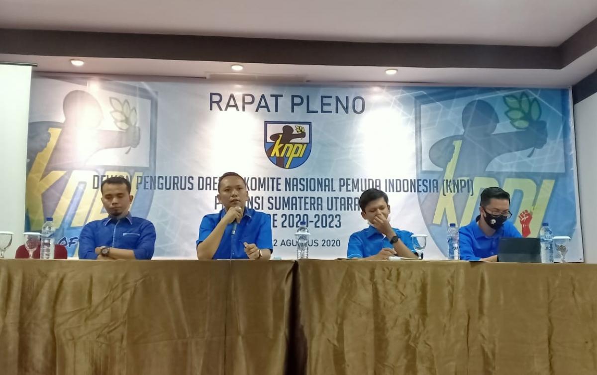 Rapat Pleno KNPI Sumut Putuskan 3 Hal, Salah Satunya Soal Caretaker