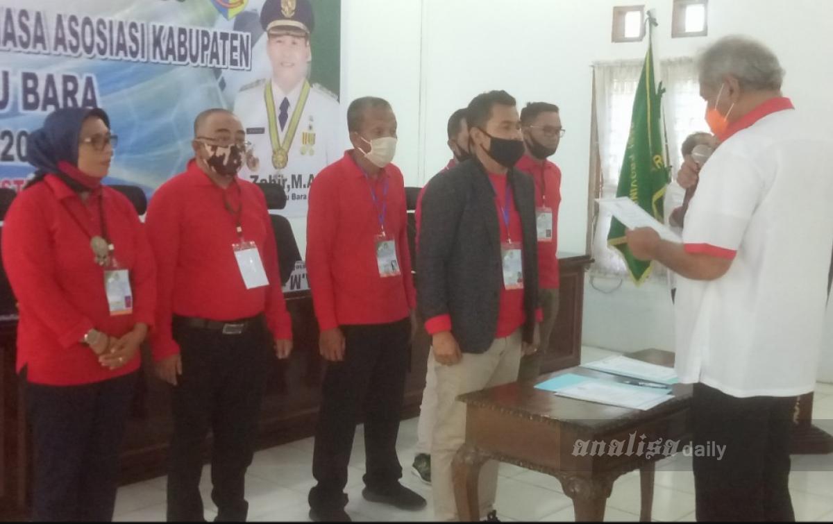 Safri Musa Terpilih Sebagai Ketua Askab PSSI Batubara