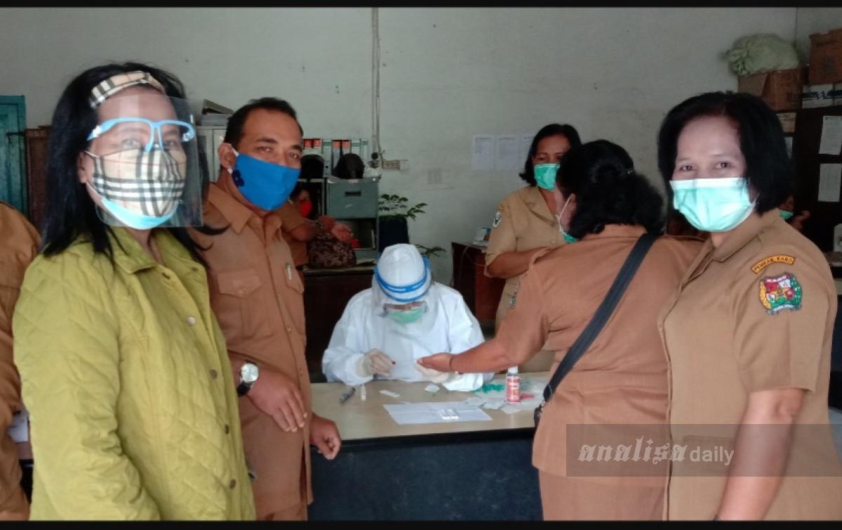 Tiga Pegawai Dinas Kesehatan Karo Probable Covid-19