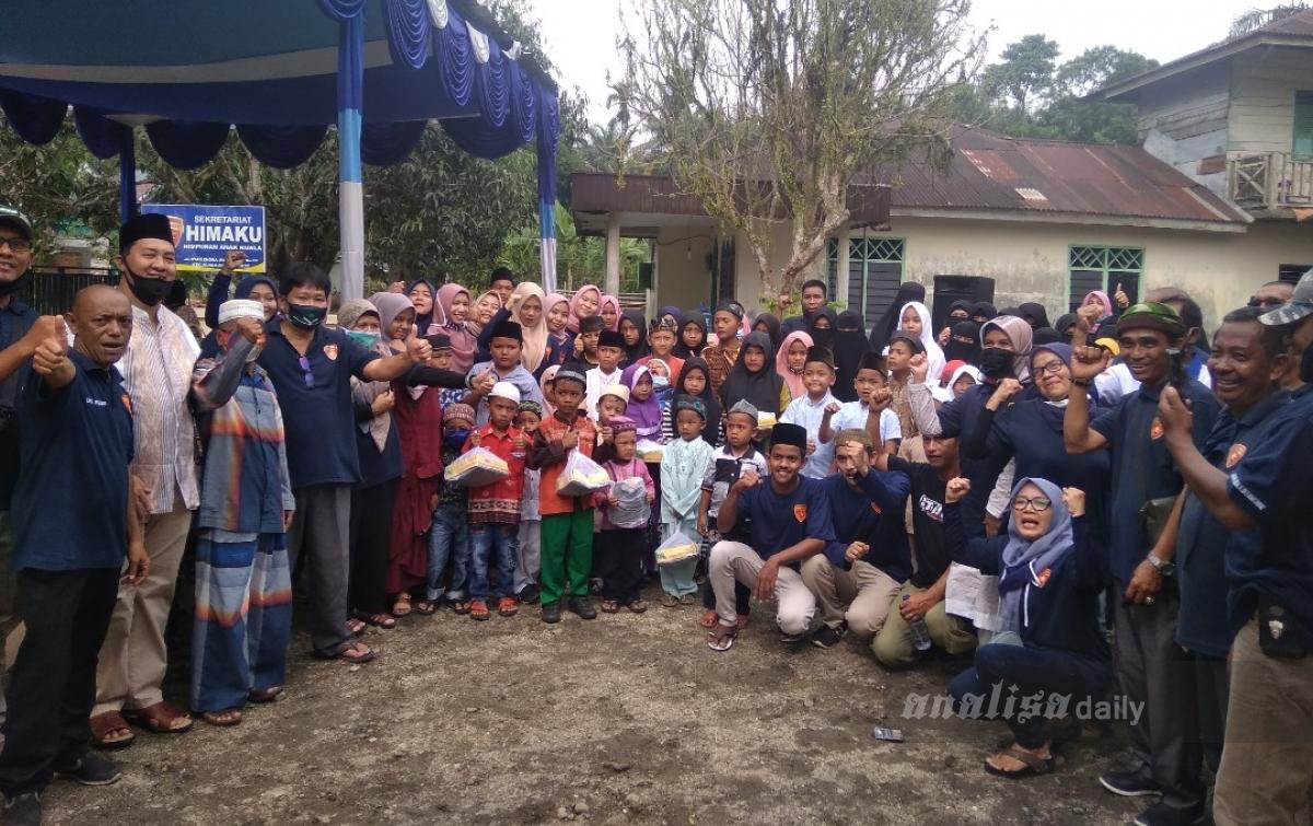 Muharram Berbagi, Ratusan Anak Yatim Diberi Santunan