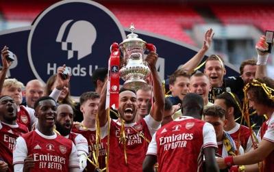 Arsenal Juara Piala FA Usai Kalahkan Chelsea 2-1