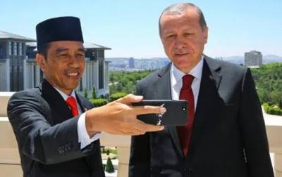 Jokowi Ucapkan Selamat Iduladha 1441 Hijriah ke Erdogan