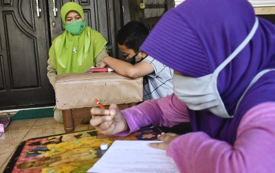 Sukseskan Belajar Jarak Jauh, Masjid Pasang Wifi Bantu Anak Sekolah