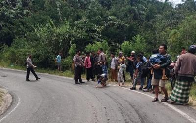Kecelakaan Lalu Lintas di Dairi, Satu Meninggal Dunia
