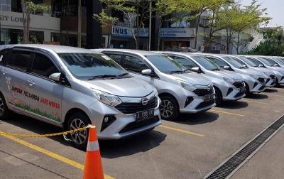 Daihatsu Jual 554 Mobil Secara Daring Dalam 1 Jam
