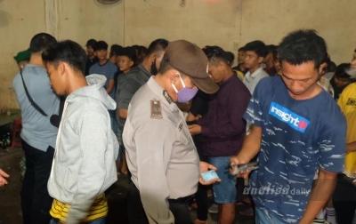 Polres Tanjungbalai Amankan 48 Orang Saat Razia Tempat Hiburan