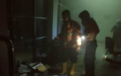 Ruang Keuangan di Kantor Bupati Labuhanbatu  Terbakar