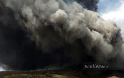 Daerah-daerah yang Terdampak Erupsi Gunung Sinabung