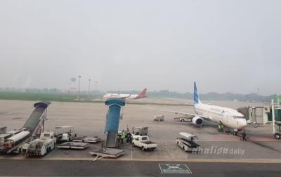 Erupsi Sinabung Tidak Mempengaruhi Penerbangan di Bandara Kualanamu