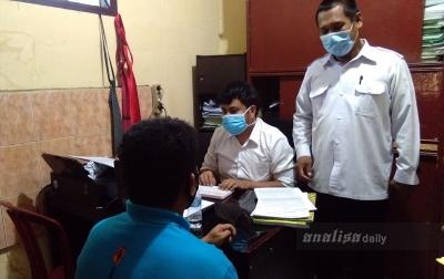 Kepala Desa Tanjung Purba Terjaring OTT