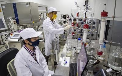 Foto: Riset Vaksin Merah Putih